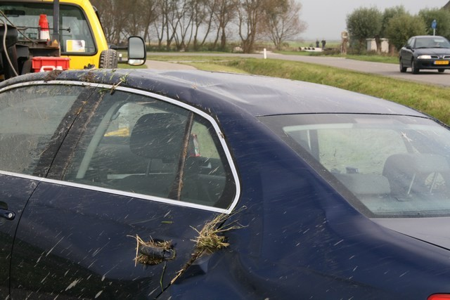 Opnieuw ongeval op Canterlandseweg