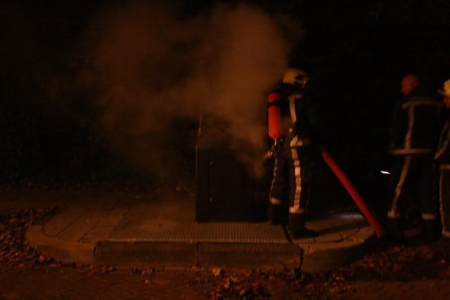 Veel nachtelijke containerbrandjes in Leeuwarden