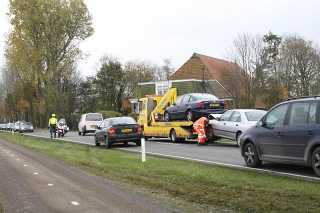 Drie gewonden bij ongeval N392 Terwispel