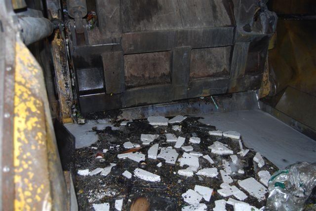 Vuilnisauto in brand Groningerstraatweg