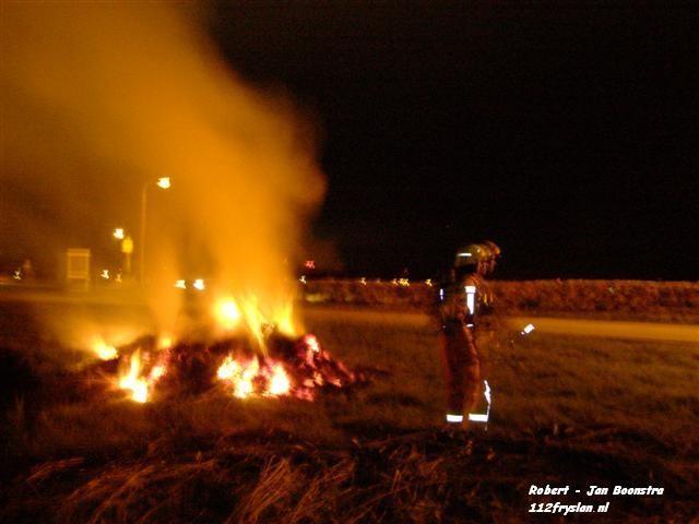 Opnieuw buitenbrand langs Bredyk