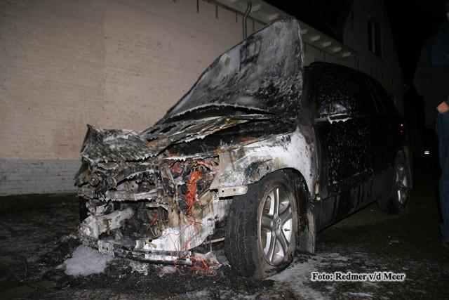 Brand in auto Tzummarum
