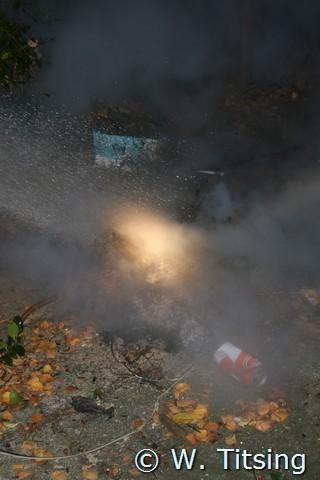 Brandweer rukt uit voor klein brandje en nacontrole