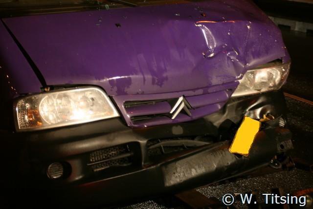 Drie auto's betrokken bij ongeval op viaduct