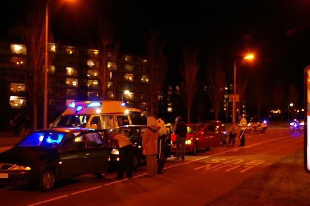 Twee gewonden bij aanrijding tussen vier auto's * UPDATE *