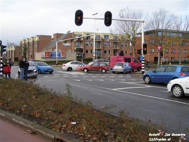 Flinke aanrijding Oostergoweg / Borniastraat
