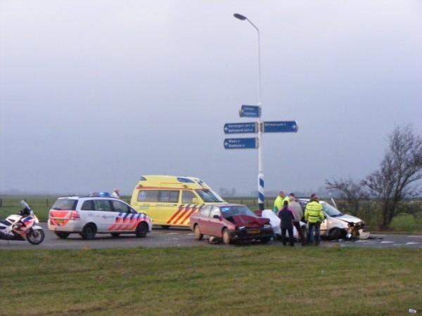 3 Gewonden bij ongeval Witmarsum