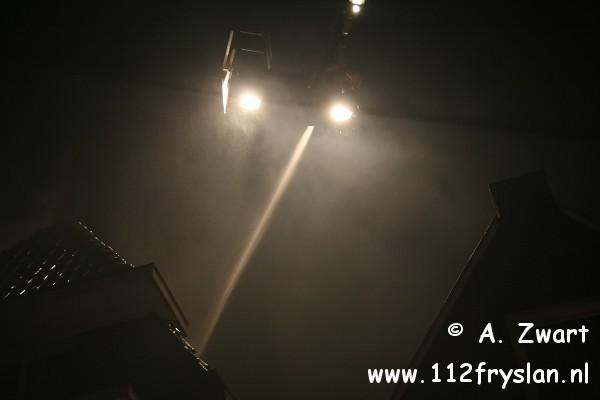 3 gewonden bij grote brand centrum Heerenveen (FILM) (update)
