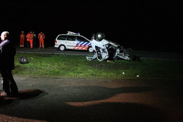 Ravage bij ongeval Bredyk