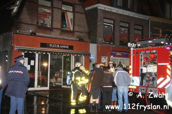 Opnieuw brand op de Dracht in Heerenveen (FILM)