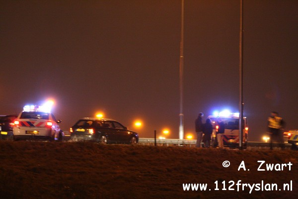 Ongeval A32 knooppunt Heerenveen