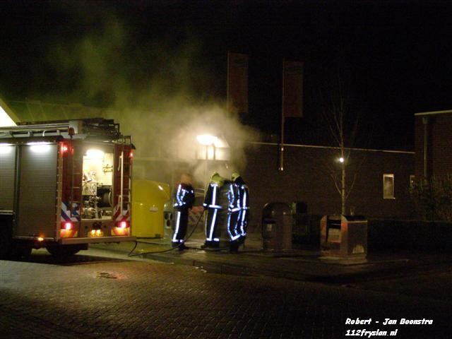 Ondergrondse containerbrand