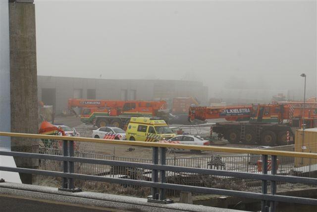 Ongeval Celsiusweg Leeuwarden