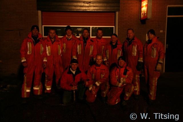 Brandweerman Jan Wiering blust laatste brand *UPDATE*