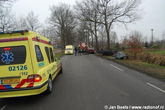 Gewonde bij eenzijdig ongeval Surhuisterveen