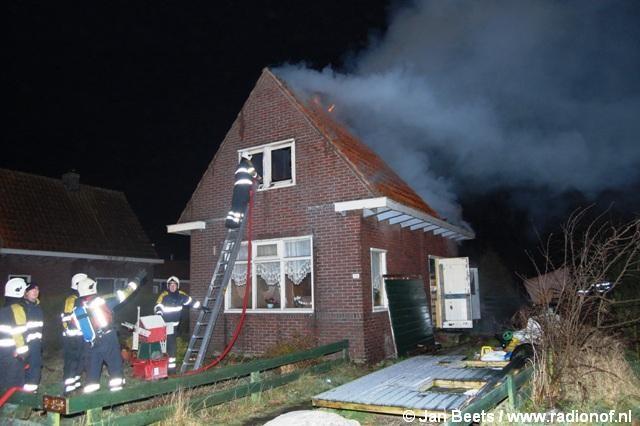 Uitslaande brand verwoest leegstaand pand