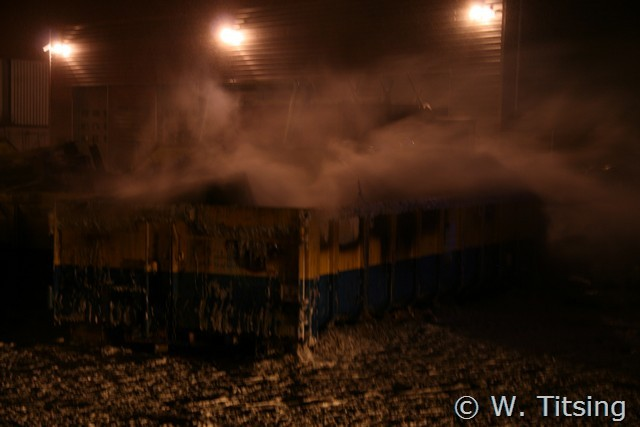 Containerbrand op gemeenteterrein *Video Update*