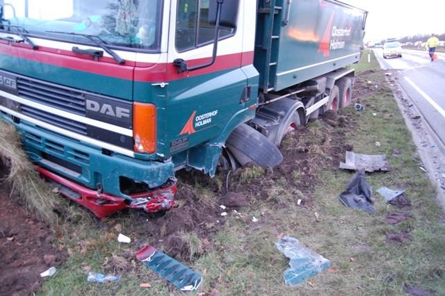 Ernstig ongeval met vrachtwagen op de Betonwei