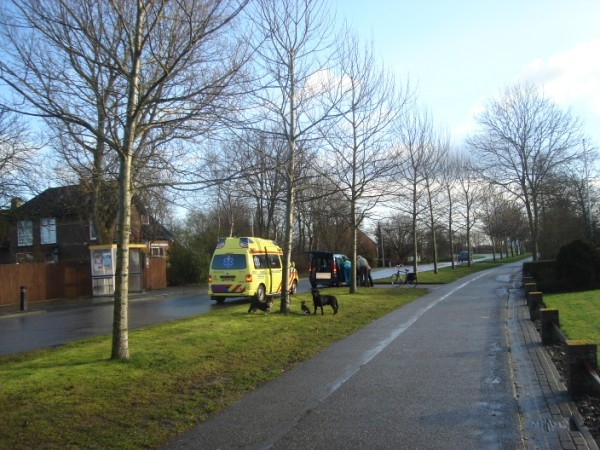 Ongevalletje Rijksweg Herbaijum
