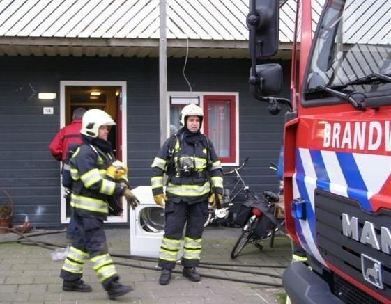 Rookontwikkeling bij AZC in Burgum