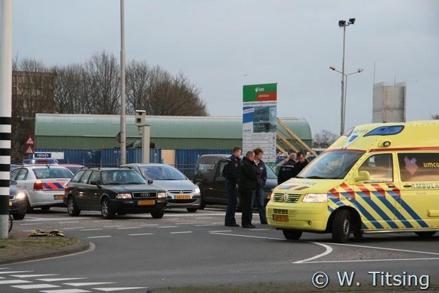 Verschillende aanrijdingen in Leeuwarden en Jellum