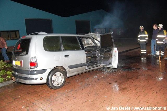Auto verloren gegaan door brand