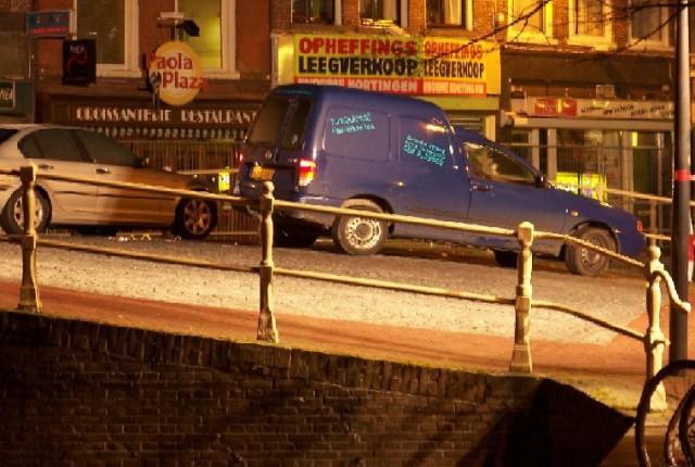 Man doodgeschoten in centrum Leeuwarden