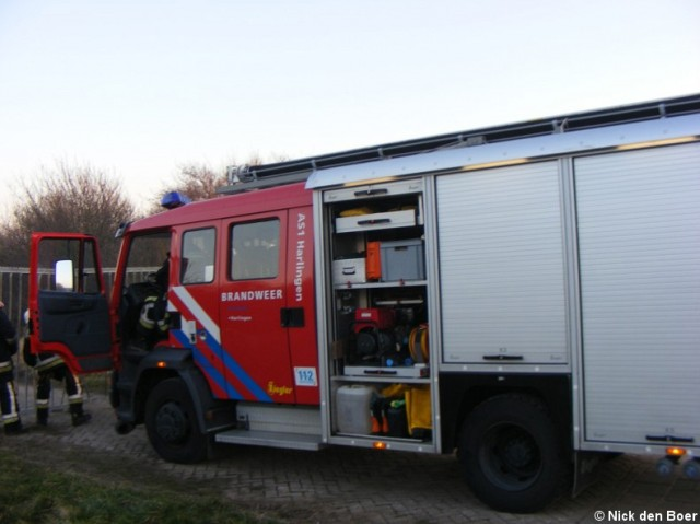 Buitenbrand Westerzeedijk Harlingen