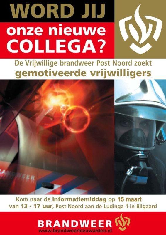 OPEN DAG Brandweer Leeuwarden Post Noord (FILM)