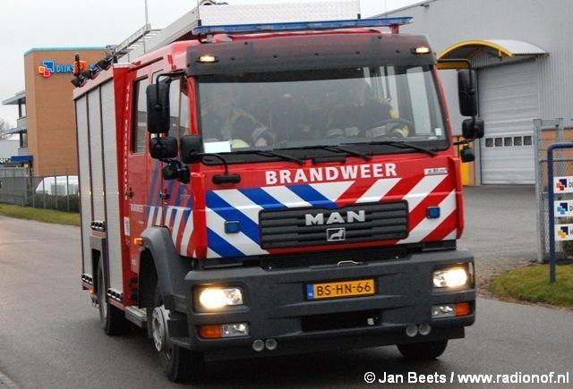 Bedrijfsbrand Dokkum blijkt mee te vallen