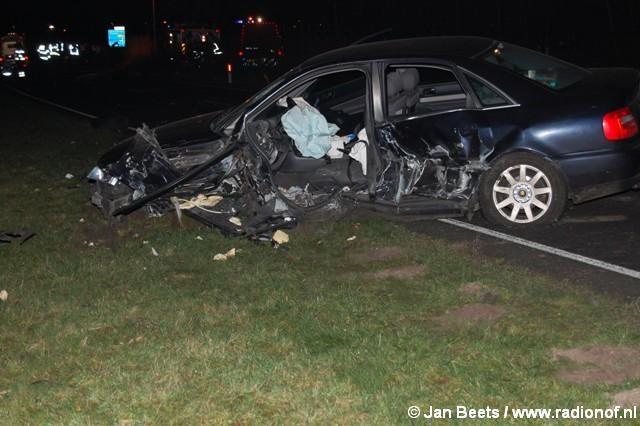 Dode en gewonden bij ongeval Drogeham
