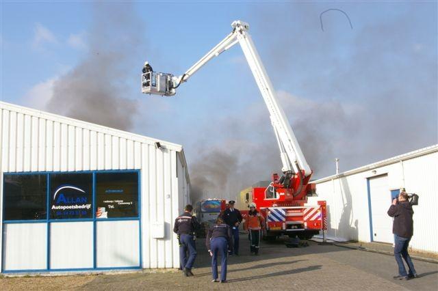 Bedrijfsbrand Ceresweg Leeuwarden (film)