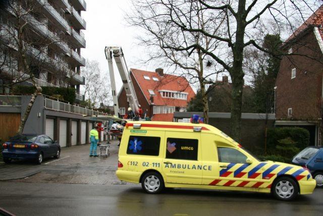 Afhijsing Europaplein en brand alarm Bilgaardpassage