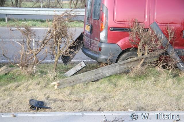 Grote inzet voor ongeval op Harlingerstraatweg