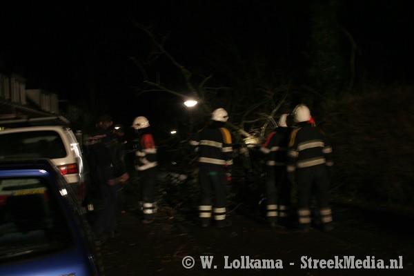Overzicht stormschade in Friesland (+video)