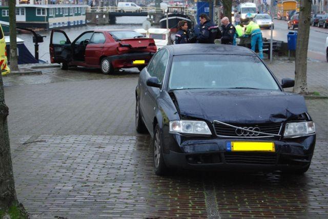 Ongeval Nieuwekade Leeuwarden