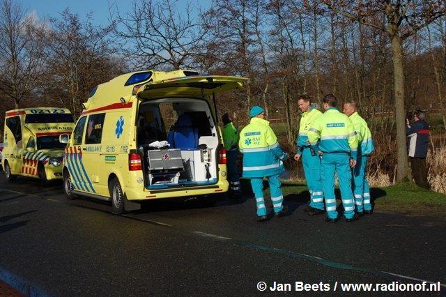Scooterrijder ernstig gewond in Surhuisterveen