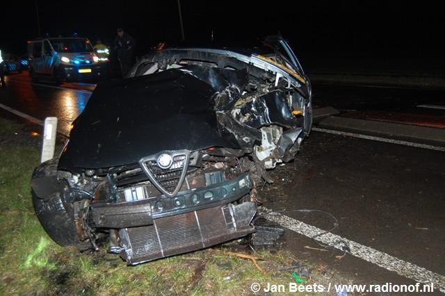 Man uit Wijnaldum gewond bij ongeval
