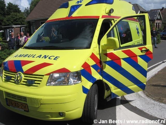 Ambulancepost Noordwest Fryslân naar Stiens