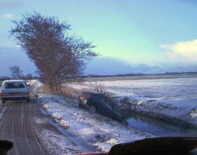 Verschillende ongevallen door winterweer(UPDATE)