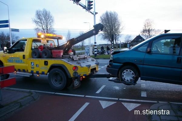 Aanrijding Drachtsterweg Leeuwarden