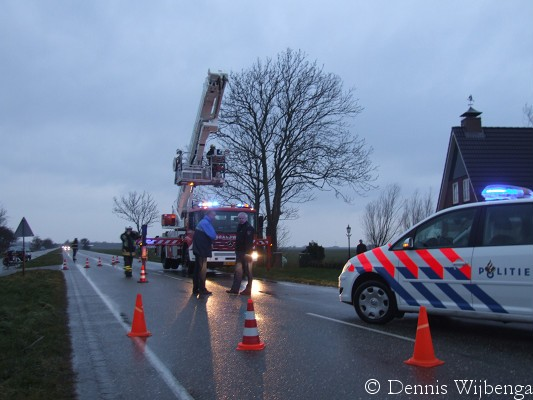 Schoorsteenbrand Rijksweg Herbaijum ( video )