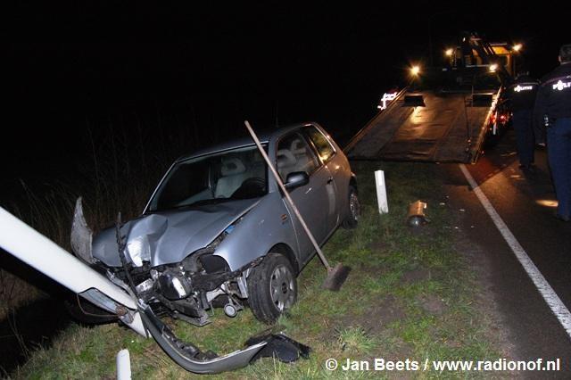 Gewonde bij ongeval Bruggelaan Buitenpost