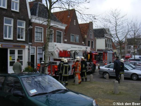 Schoorsteenbrand Rommelhaven