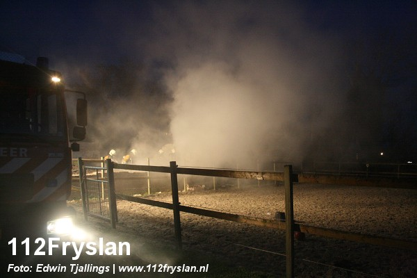 Hooibult in brand