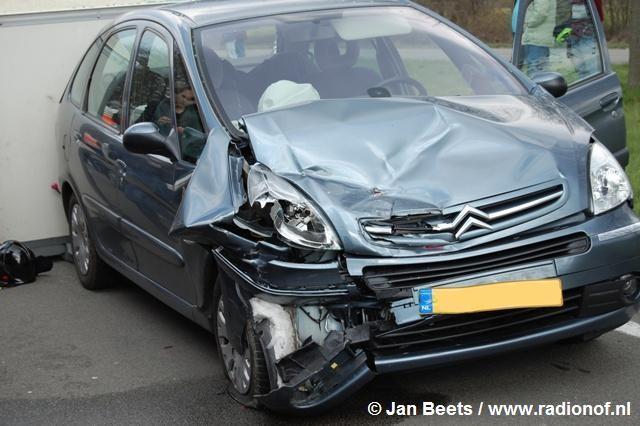 Ongeval beknelling in Drachten