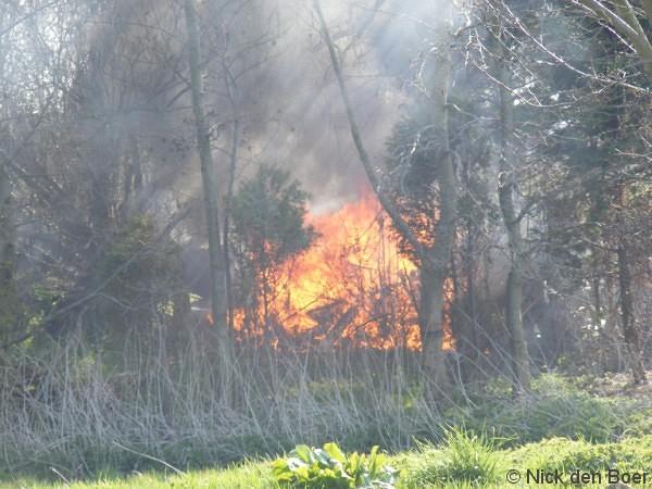 Buitenbrand Kimswerderweg (VIDEO)
