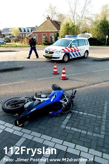 Twee gewonden bij scooterongeval *update*