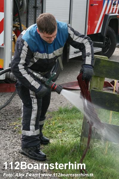 Brandweer redt paard uit sloot (video)
