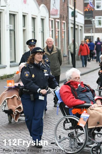 Koningin in Friesland